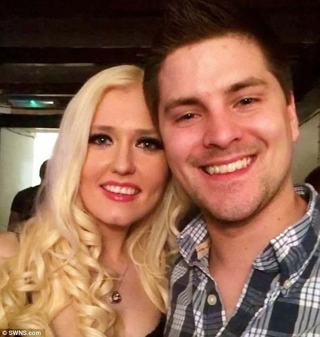 Natasha Morgan, 28, has made a tearful video pleading with her boyfriend Patrick Lamb, 28, to return home after he went missing following a Christmas night out in Maidstone in Kent almost 10 days ago