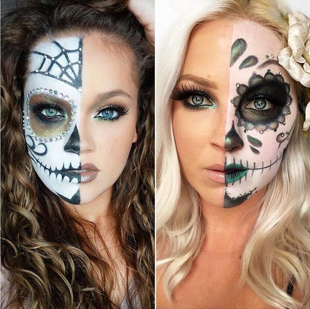 Maquillaje Calavera Para Halloween