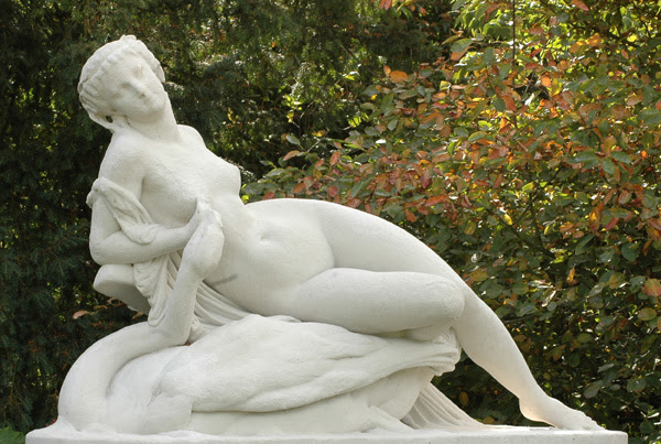 Jupiter et Leda. Alexandre Schoenewerk.
