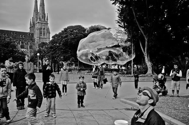 soap bubble man 6