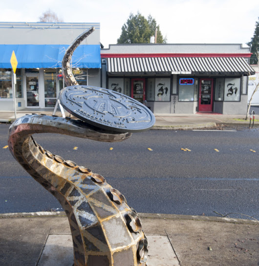 Artwork slithers into Vancouver