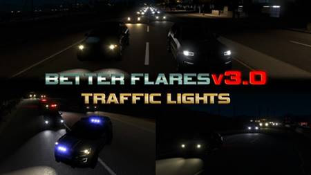 Better Flares v3 addons for Jazzycat Packs | ATS Mods
