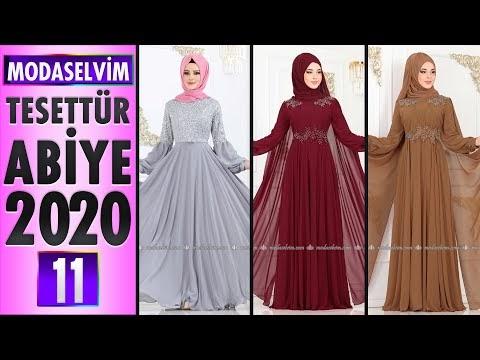 Modaselvim 2020 Tesettür Abiye Elbise Modelleri 11 | Moda Selvim Abiye - Abendkleid - Evening Dress