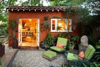 Studio In A Celebrated Garden Stucco Studio In A Celebrated