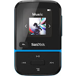 SanDisk - Clip Sport Go 32GB* MP3 Player - Blue