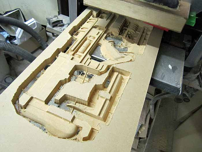 Helghast Rifle First Quarter Cut Out