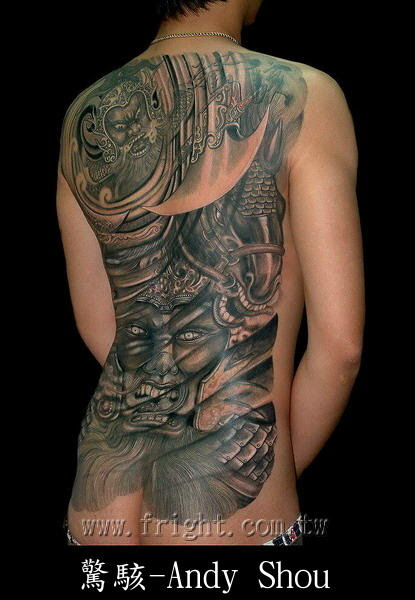 Full Back Tattoos For Men. af Cool Tattoos Pictures 05 okt 08