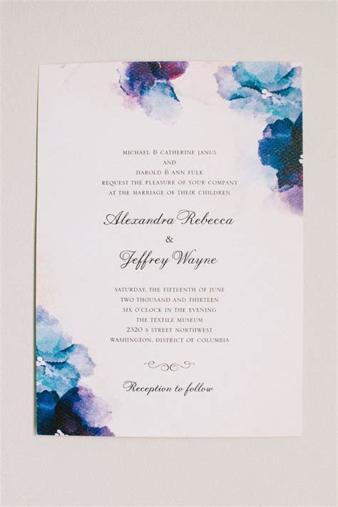 25  best ideas about Watercolor Invitations on Pinterest