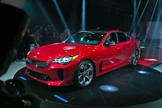 Kia Stinger GT First Look - Motor Trend