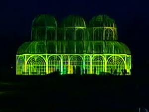 Estufa do Jardim Botânico ganhou nova iluminação