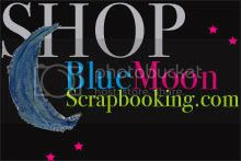 BlueMoonScrapbooking.com logo