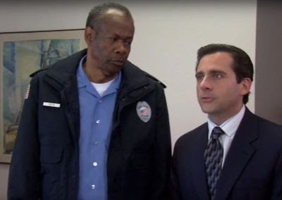 Hugh Dane and Steve Carell - The Office