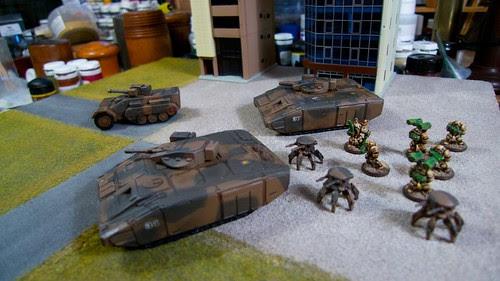 Old Crow Tanks