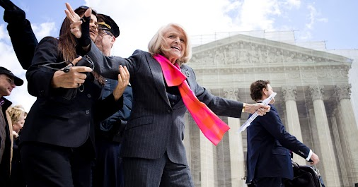 Today the LGBT lost a great person; Edith Windsor a lesbian married 43 years. However, when her partner...