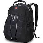 "Swissgear 1753 ScanSmart TSA Laptop Backpack - 15"" - Black - Laptop Backpacks"