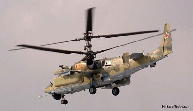 Ka-52, Helikopter Pembunuh Tank Tercanggih Rusia