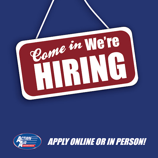 Action Air is Hiring! - Action Air Clarksville