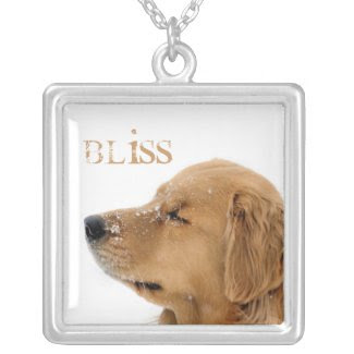 Golden Retriever Bliss Necklace necklace