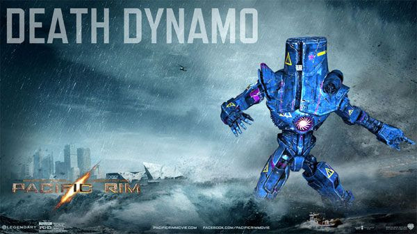 My own PACIFIC RIM Jaeger...known as the Death Dynamo.