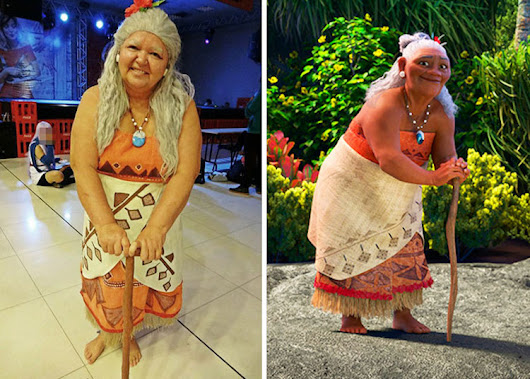Creative Mom Dresses Up in Amazing Cosplay to Represent Older Women Characters