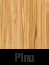 Muebles de madera en pino