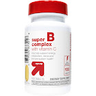 Super B Complex with Vitamin C Dietary Supplement Tablets - 100ct - Up&Up , Adult Unisex, Size: 100 Count