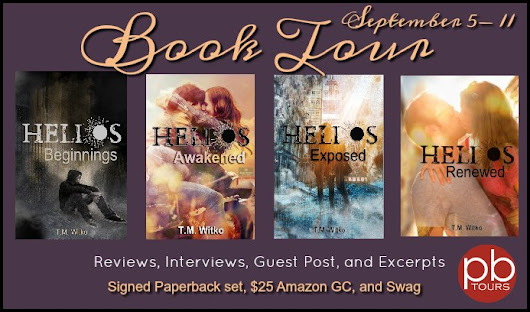 Helios Chronicles by T.M. Witko is a contemporary romance series