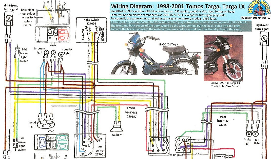 2003 Kinetic Moped Wiring Diagram