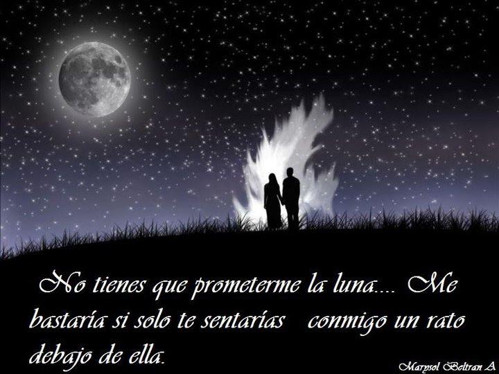 Imagenes Romanticas De Luna Llena Con Frases De Amor Para Decir