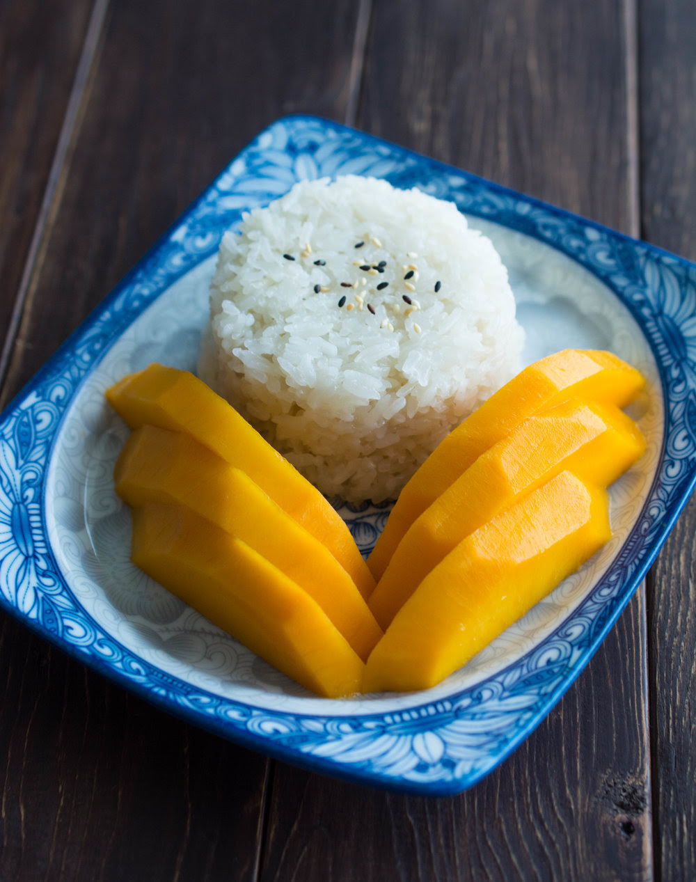Thai Mango and Sticky Rice - Wok & Skillet