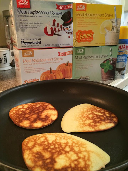 Protein Pancakes With ONLY 3 Ingredients