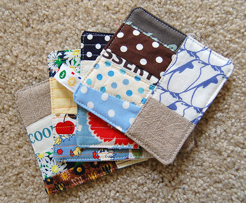 coasters from scraps