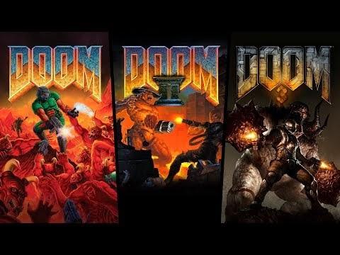 Blast the crunchy skulls of demons in Doom series re-release