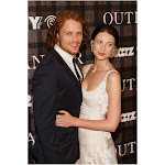 Sam Heughan, Caitriona Balfe at Arrivals for Outlander Series Premiere, 92nd Street Y, New York, NY July 28, 2014. Photo by Jason SmithEverett