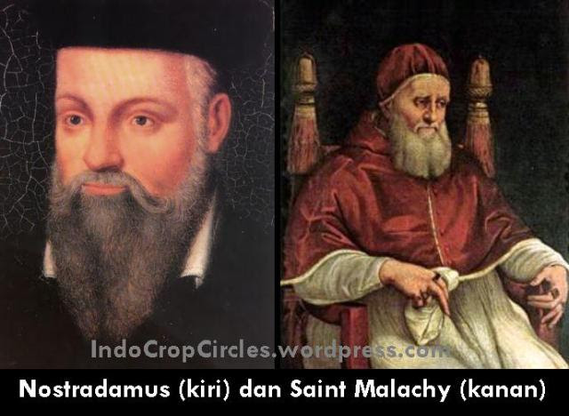 nostradamus dan St Malachy