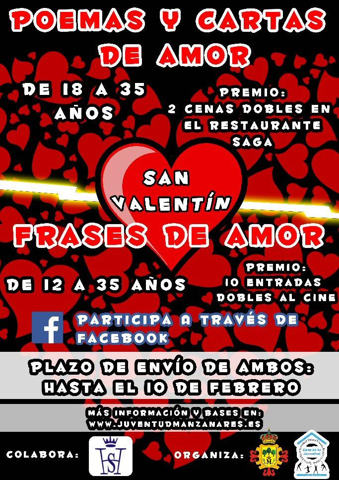 Manzanares Concursos De Frases Poemas Y Cartas De Amor Para
