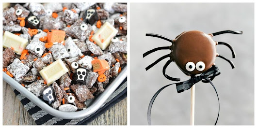 60 Homemade Halloween Treats - Easy Halloween Dessert Recipes