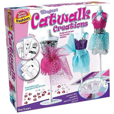 elegant fashion catwalk creations sewing kit toys