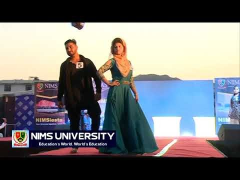 Gorgeous Ramp Walk in Freshers Party at Nims University