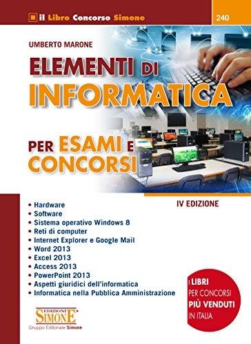 Libri pdf download free italiano elementi di informatica for Concorsi parlamento italiano 2017