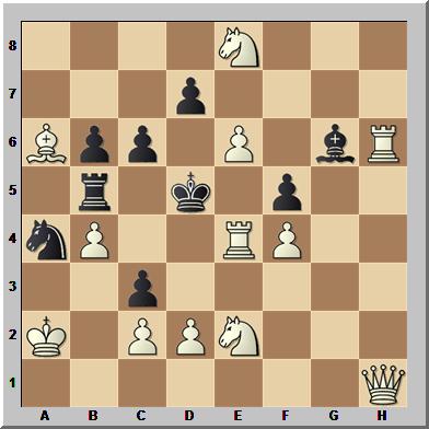 Problema de ajedrez mate en dos