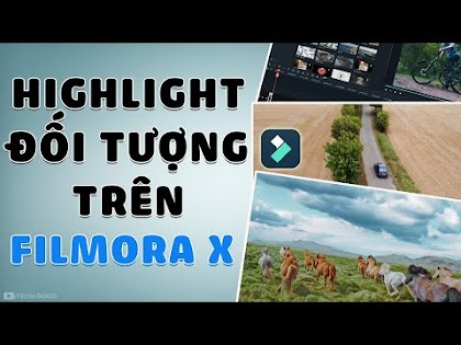 Cách Highlight một Đối Tượng đang di chuyển trên Filmora X