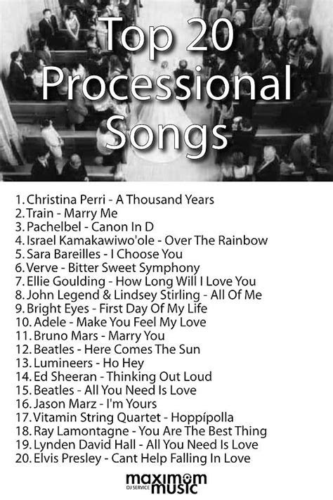 Best 25  Processional songs ideas on Pinterest   Wedding