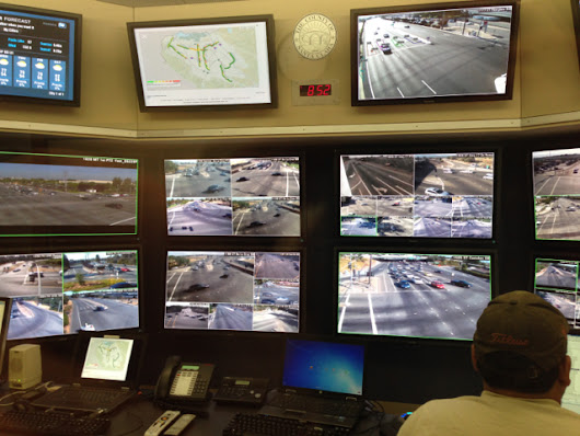 A Visit to the County Traffic Operations Center