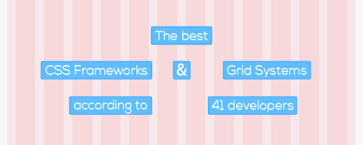 The best responsive CSS frameworks according to 41 developers