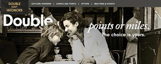 Double Hilton Honors Points Promotion 2015 (01-Mar to 31 May)