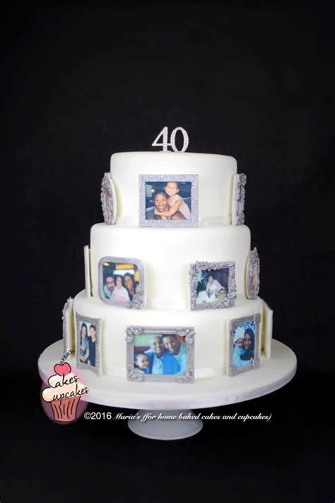Photo memory cake   cake by Maria's   CakesDecor