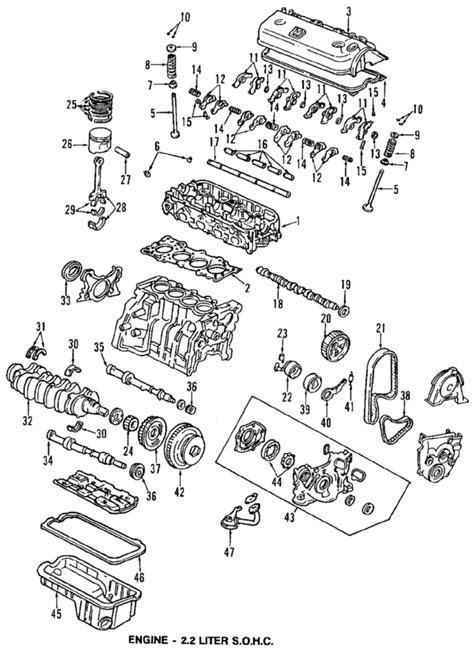 Parts.com® | Honda ENGINE CRANKSHAFT - BEARINGS REAR MAIN