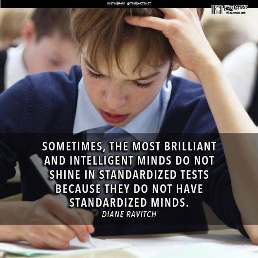 Intelligent Minds and Standardized Tests