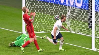 Кейн вывел вперёд Англию в полуфинале Евро-2020 с Данией